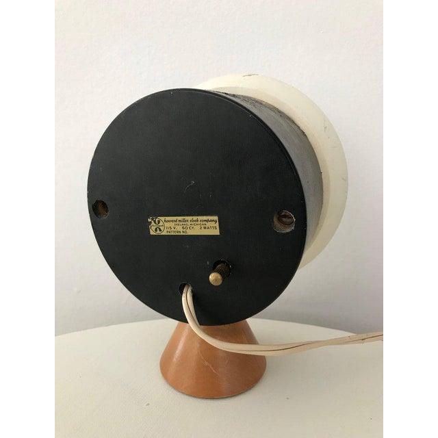 1950s George Nelson & Irving Harper for Howard Miller Table Desk Clock, 1951, Works For Sale - Image 5 of 13