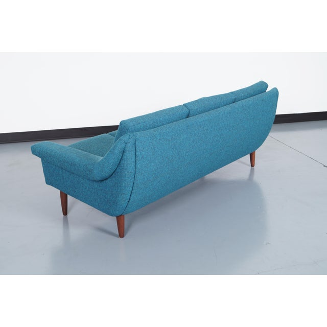 1950s Danish Modern Sofa For Sale - Image 5 of 7