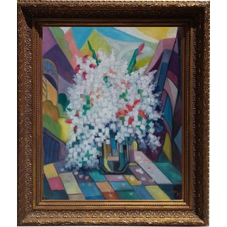 Reza Afrookheth Cubist Still Life 2007 For Sale