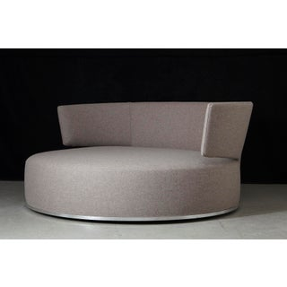 Amoenus - Circular Swivel Sofa by Antonio Citterio for B & B Italia, New Upholstery Preview