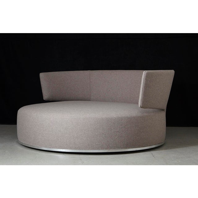 "Stunning circular swivel sofa ""Amoenus"" designed by Antonio Citterio for the Maxalto Collection for B&B, Italia, circa..."