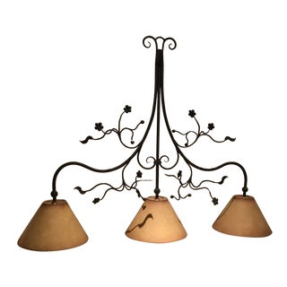 Modern Iron Pendant Light For Sale