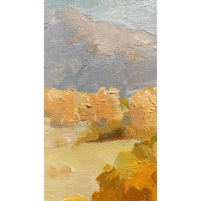 """Victor Matson """"Sycamore Trees"""" California Plein Air Landscape Oil Painting For Sale - Image 5 of 10"""