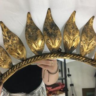 French Mid Century Sun Burst Mirror Preview