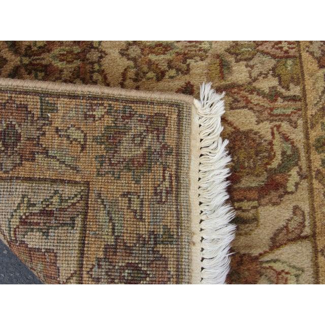 "Oriental Hand Woven Wool Runner - 2'6"" x 7'11"" - Image 11 of 11"