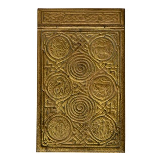 Tiffany Studios Zodiac Series Notepad Holder For Sale
