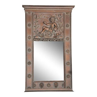 French Neoclassical-Style Trumeau Mirror