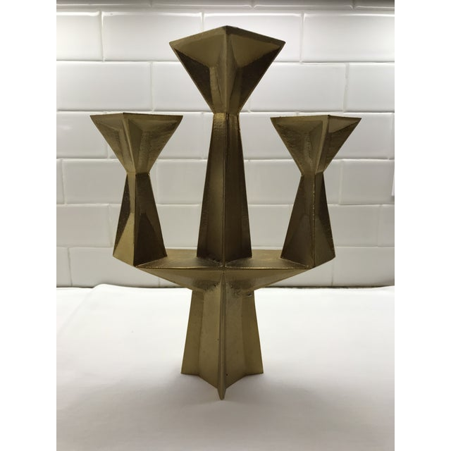 Contemporary Tom Dixon 3 Light Candlestick For Sale In New York - Image 6 of 6