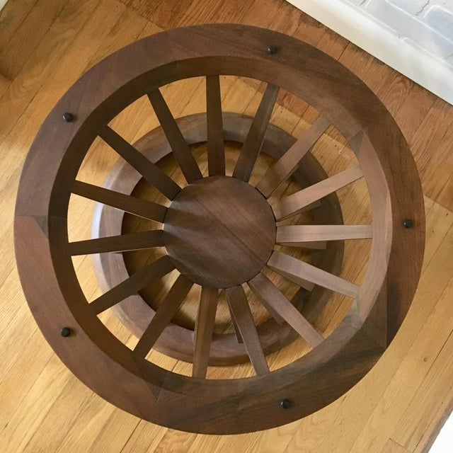 Glass Edward Wormley Style Sheaf of Wheat Coffee Table For Sale - Image 7 of 12