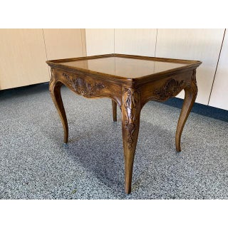 1980s Louis XVII Henredon Villandry Collection Side Table Preview