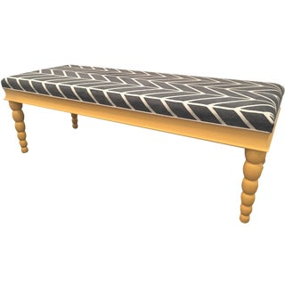 Century Furniture Lacquered Bench