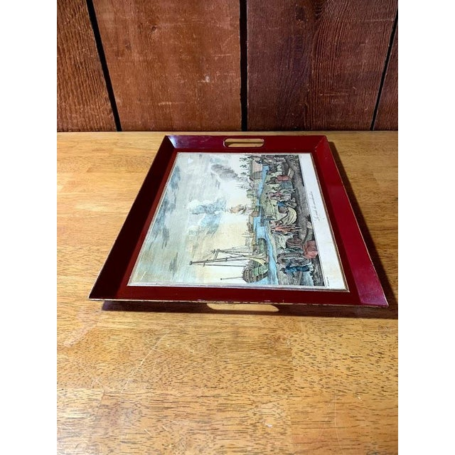 Shabby Chic Serving Tray For Sale - Image 4 of 11