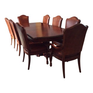 Vintage Hickory White Legends Dining Set - 9 Pieces