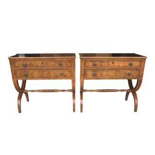 Ethan Allen Connolly Nightstands - A Pair