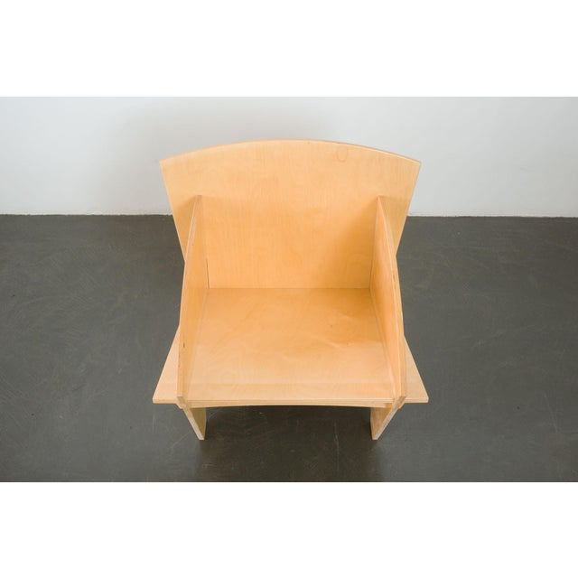 Wood Puzzle Chair For Sale - Image 7 of 9