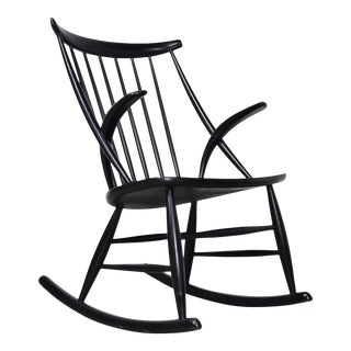 Mid-Century Rocking Chair by Illum Wikkelso For Sale