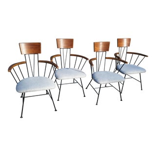 1960s Vintage Richard McCarthy Dining Chairs for Selrite-Set Of 4 For Sale