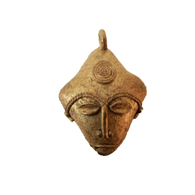 African Baule Gold Weight Passport Mask - Image 5 of 5