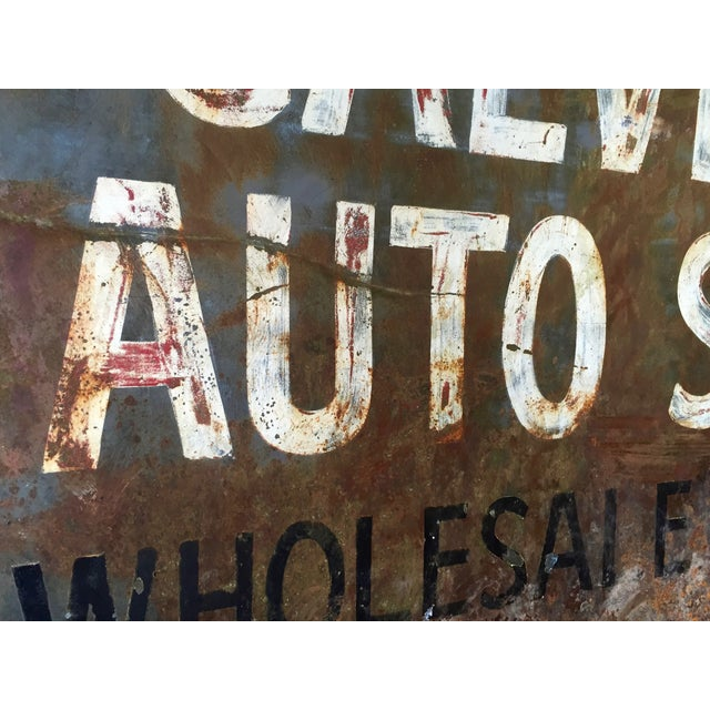 Vintage Auto Trade Sign - Image 7 of 11