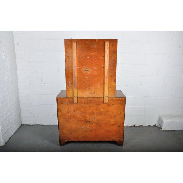 Mid-Century Modern Walnut Vanity Dresser For Sale - Image 11 of 13