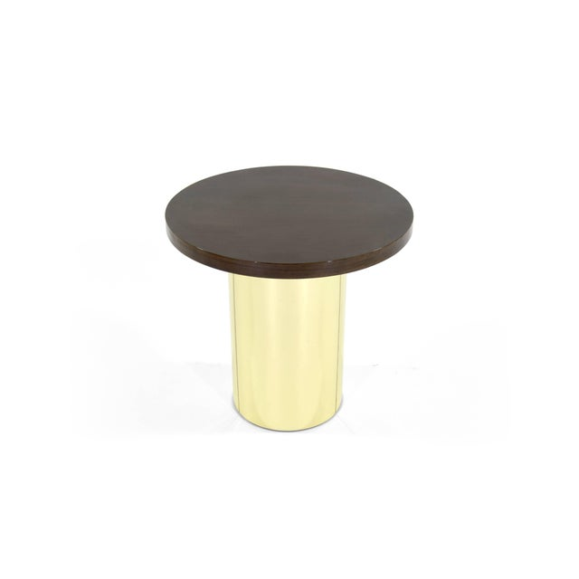 Mid-Century Modern Brass Pedestal by Curtis Jere For Sale - Image 3 of 8