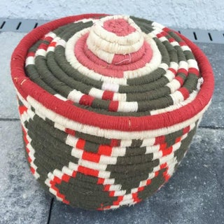 Moroccan Woven Basket Preview