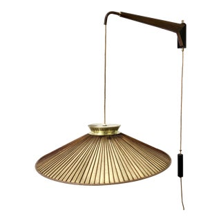 Mid Century Modern Adjustable Pendant Light by Gerald Thurston for Lightolier For Sale