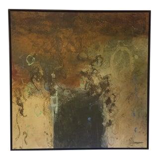 John Baughman Oil Abstract For Sale