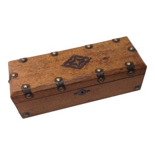 Early 20th Century Antique English Box For Sale
