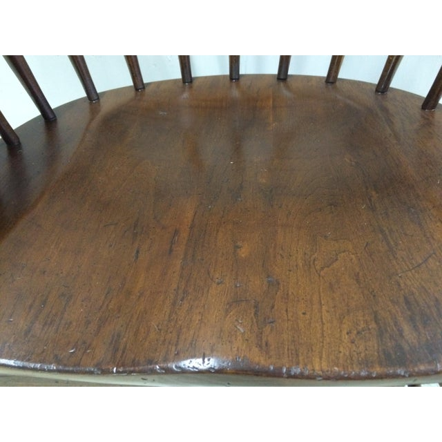 Pennsylvania House Comb Back Windsor Writing Chair For Sale - Image 5 of 10