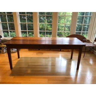 19th Century Country Cherry Farm Table Preview