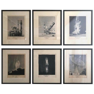 1960s Photographs of Intercontinental Ballistic Missile and Rocket Launches - Set of 6 For Sale