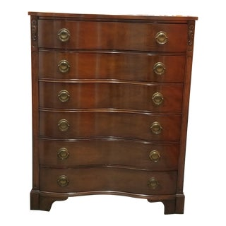 "Kent Coffey ""The Darlington"" Mahogany Chest of Drawers"