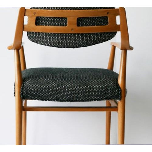Unusual Scandinavian Chairs - Pair For Sale In Palm Springs - Image 6 of 7