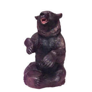 19th Century Black Forest Carved Bear Tobacco Accessory For Sale