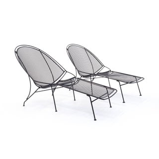 1960s Vintage John Salterini Patio Chaise Lounge Chairs- 4 Pieces Preview