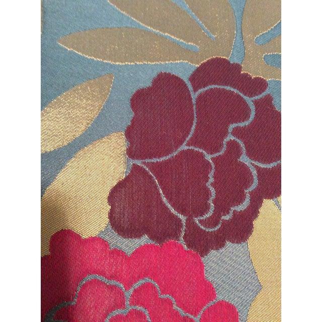 Osborne & Little Pink & Purple Peonies Fabric- 2 Yards - Image 4 of 5