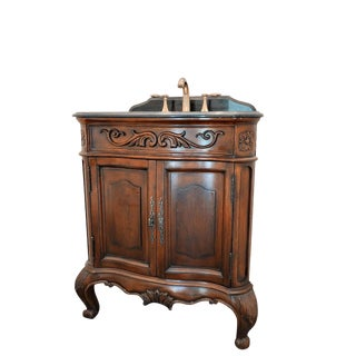 Cole & Co Wood & Stone Vanity