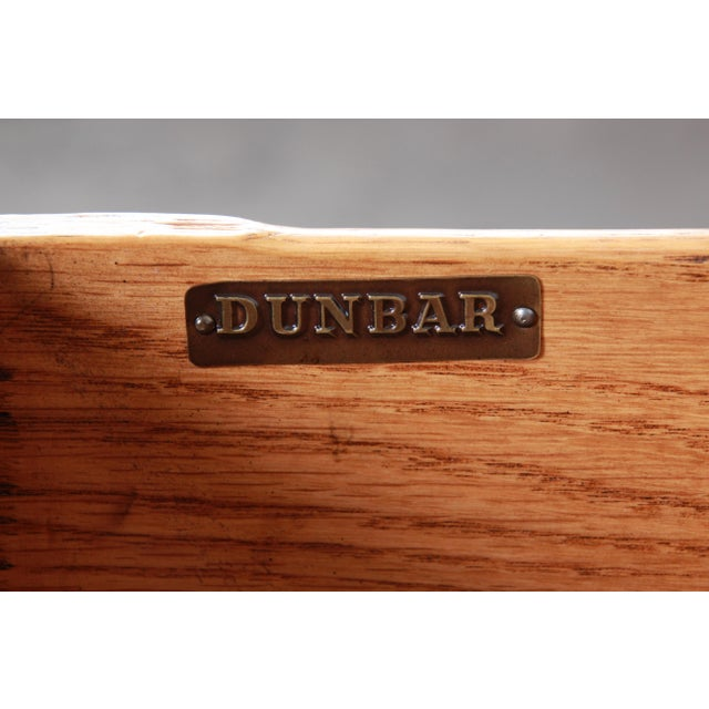 Early Edward Wormley for Dunbar Walnut and Black Lacquered Kneehole Desk, 1940s For Sale - Image 12 of 13