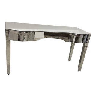 Bungalow 5 Mirrored Cecilia Desk For Sale