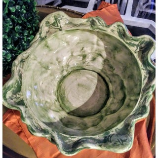 Ceramic Large Cabbage Green Soup Tureen Preview