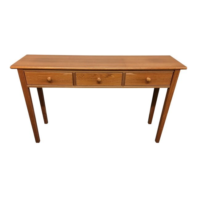 Teak Console Table - Image 1 of 7