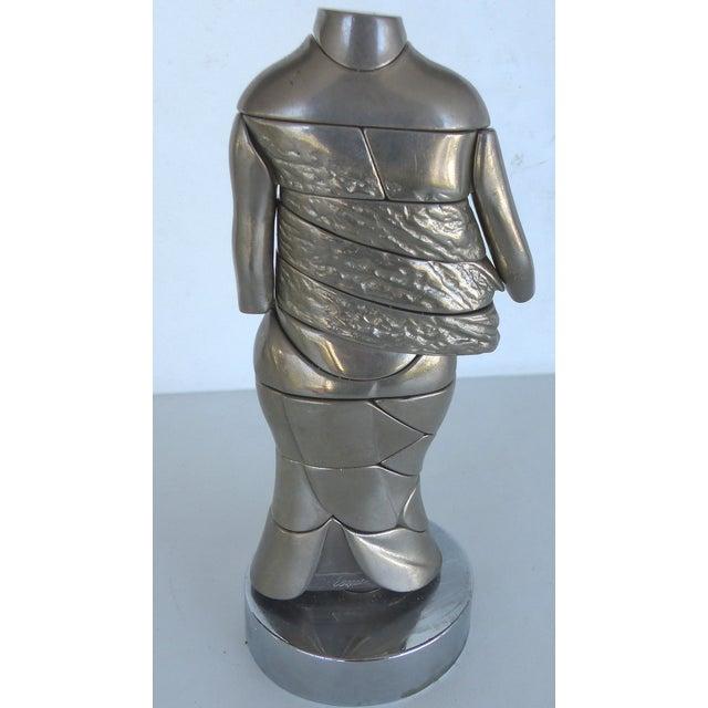 Miguel Ortiz Berrocal Puzzle Sculpture - Image 6 of 8