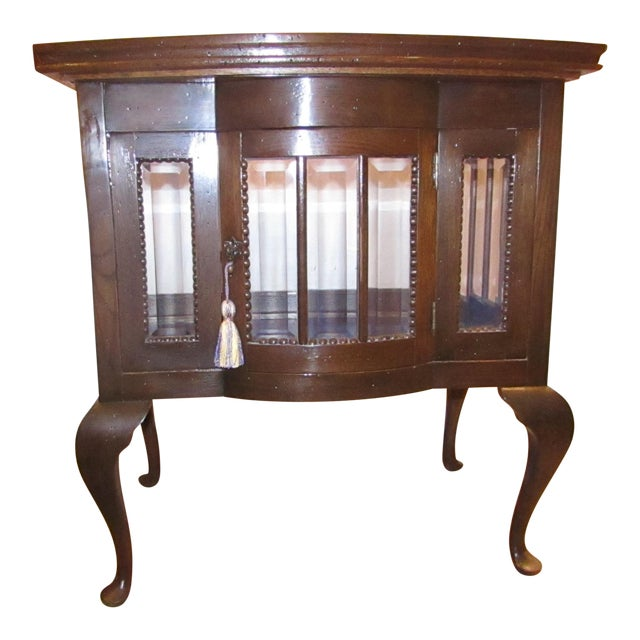 Antique Mahogany Chocolate Display Table For Sale