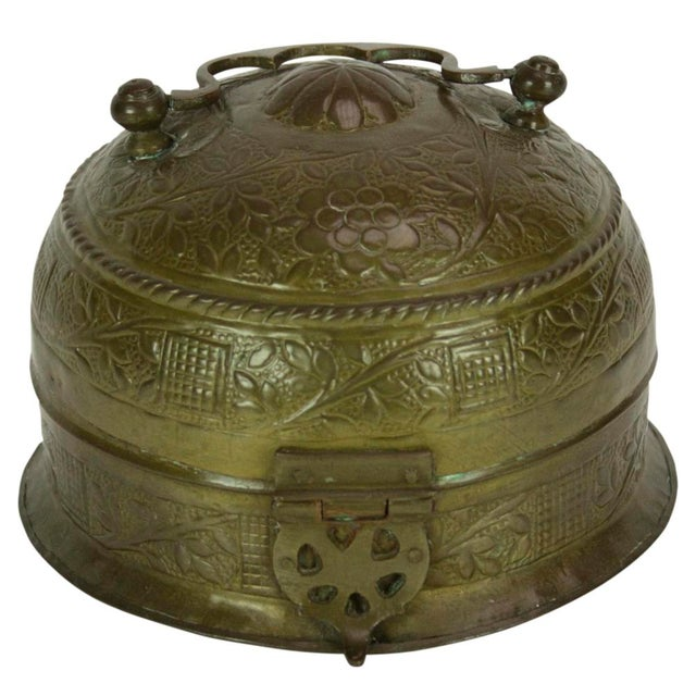 Brass Pandan Box For Sale - Image 4 of 5