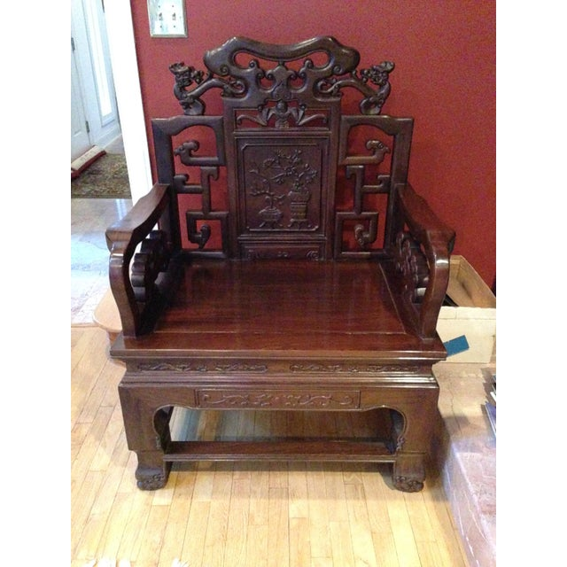 Altar Decoration For Chairs: Chinese Altar Chair