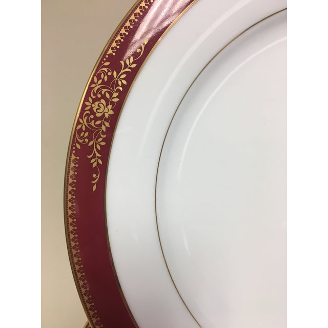 Traditional Noritake Goldmere Dinner Plates - Set of 12 For Sale - Image 3 of 5