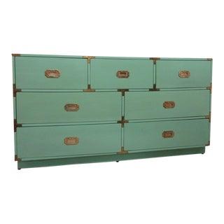 Jade Green Campaign Dresser