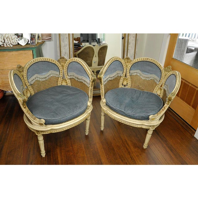 20th Century French Petal Chairs - a Pair For Sale - Image 13 of 13