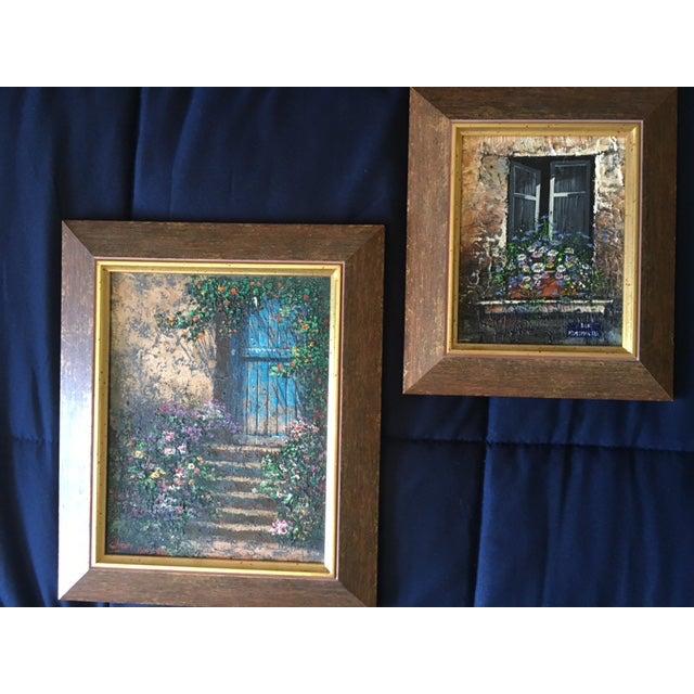 Paris Rue Montmartre Paintings - Pair - Image 2 of 4